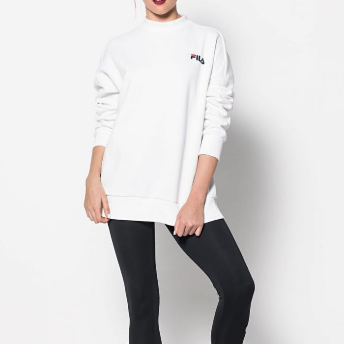 FILA Sweat shirt Asta 2.0 Turtle Bright White